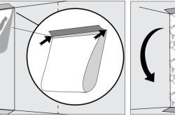 Схема приклеивания обоев