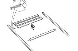 Схема сборки спинки кровати
