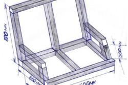 Схема сидения качелей