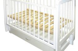 Перемещаемое дно кроватки