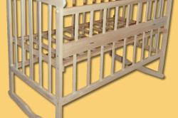 Скругленные углы на кроватке