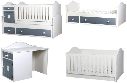 Конструкции детских кроватей