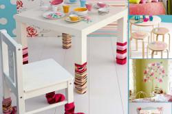 Декорирование мебели и элементов интерьера