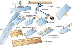Инструменты для ремонта потолка