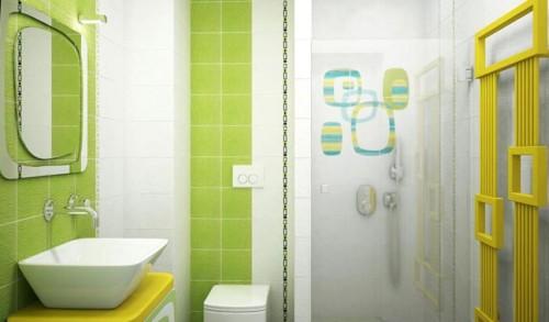 Вариант отделки ванной комнаты пластиковыми панелями очень практичен. Панели легко моются, просты в монтаже и сравнительно недорогие.