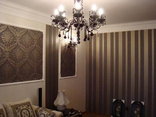 Дизайн комнаты с помощью обоев