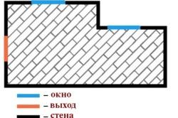 Схема укладки ламината по диагонали