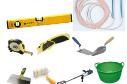 Инструменты для стяжки пола