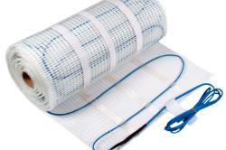 Основным материалом для монтажа теплого материала является нагревательный кабель.