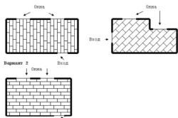 Возможные схемы укладки ламината
