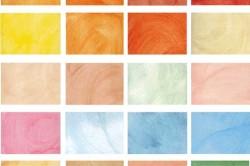 Виды текстур и цветов венецианской штукатурки