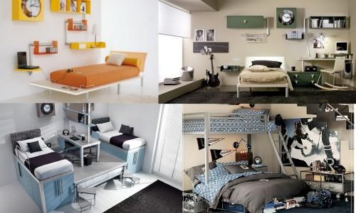 Варианты подросткового интерьера спальни