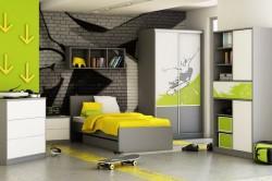 Комната для подростка в стиле лофт