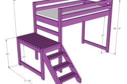 Вариант 3 схемы кровати-чердака