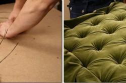 Обшивка краев кровати