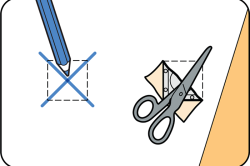 Схема поклейки обоев вокруг выключателей и розеток