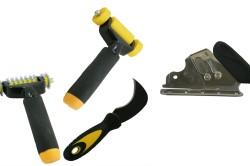 Инструменты для настила линолеума