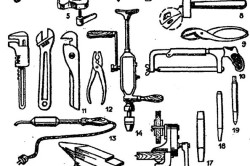 Инструменты для изготовления детской кроватки