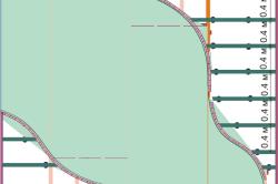 Схема монтажа второго уровня подвесного гипсокартонного потолка с волнами