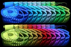 Многоцветная подсветка потолка