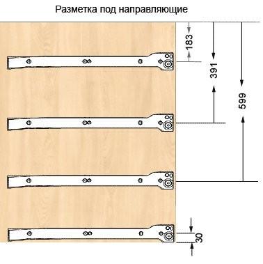 Как собрать тумбочку с выдвижным ящиком своими руками