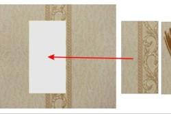 Если нет оторванного куска обоевЖ то необходимо взять такие же обои и вырезать фрагмент, который необходим на испорченное место.