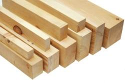 Лаги изготавливаются из деревянных балок.