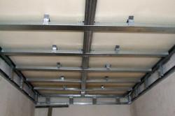 Обрешетка потолка под ПВХ-панели