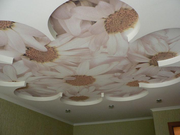 Красивый потолок