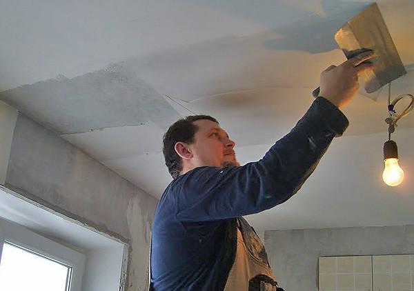 Выравнивание потолка