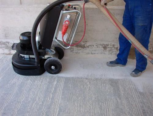 Шлифовка пола из бетона