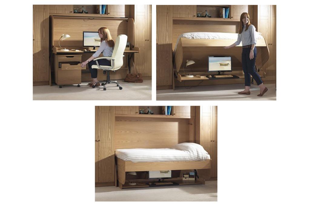 Как сделать кровать стол трансформер своими руками 15