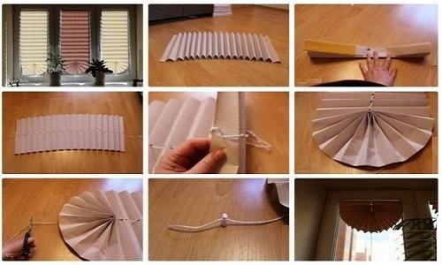 Как можно сделать своими руками жалюзи на окна