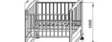 Детская кроватка своими руками: устройство маятника