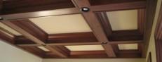 Балки на потолке, сделанные своими руками
