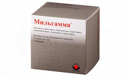Мильгамму назначают при воспалении нервов (невралгия, невриты)